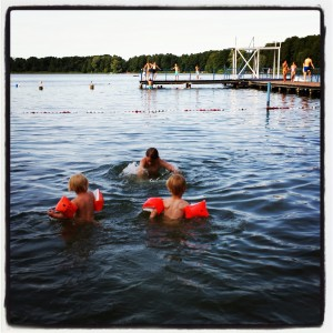 sicherer Nichtschwimmerbereich