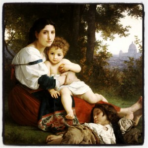 William-Adolphe Bouguereau (1825-1905) - Rest (1879)
