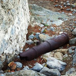 Mallorca Wachturm Kanone