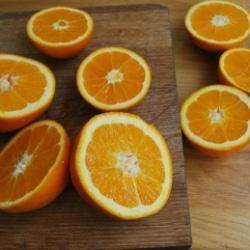 Orangensaft pressen Fet a Sóller
