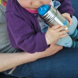 Pura Kiki edelstahl Trinkflasche  für Baby