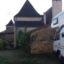 Stellplatz auf einem Bauernhof in der Dordogne
