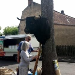 Flohmarkt in der Dordogne