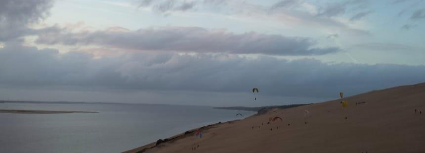 MIT DEM wOHNMOBIL ZUR Dune du Pilat in Frankreich