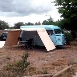Campingplatz Le Village du Lac bei Bordeaux