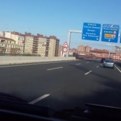 mit dem Wohnmobil unterwegs in Navarra, Spanien