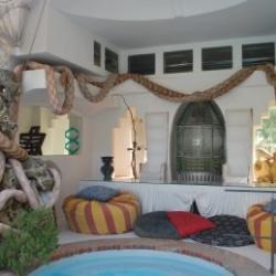 Dalis Pool und Garten in Portlligat Spanien