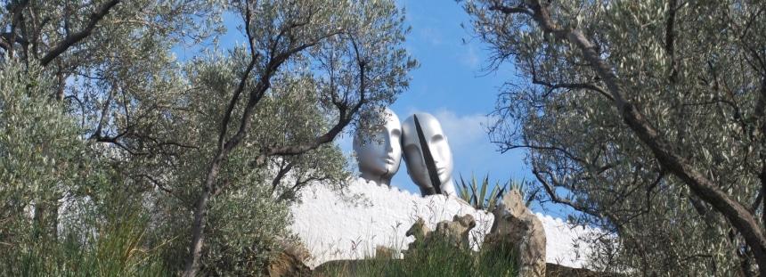 Salvador Dalís Haus Portlligat Spanien
