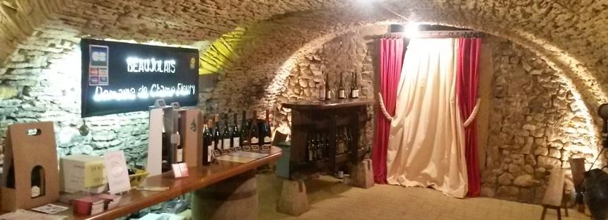 Mit dem Wohnmobil auf einem Weingut in Frankreich, Marcy