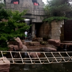 playmobil-funpark ruine und grotte mi wasserfall