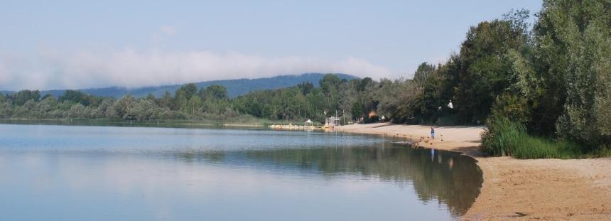 Mit dem Wohnmobil am Lac de Charlain