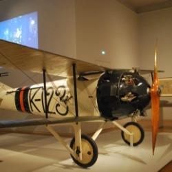 Flugzeug aus dem 1. Weltkrieg im Rijksmuseum Amsterdam