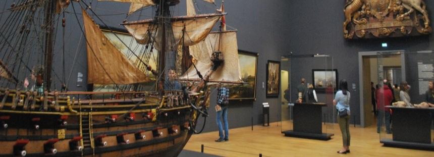 Mit den Kindern im Amsterdamer Rijksmuseum