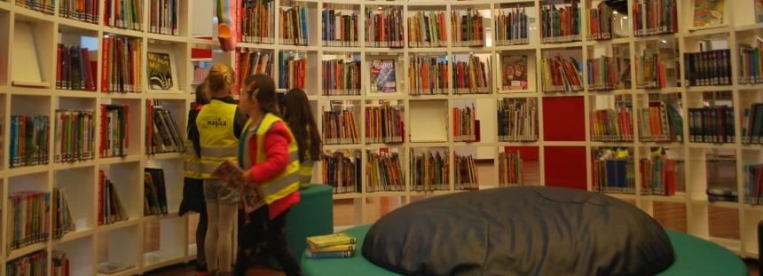 Stadtbücherei von Amsterdam Kinderbücher