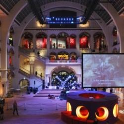 Atrium des Tropenmuseums