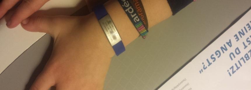 ID Armband von Djuva für Kinder