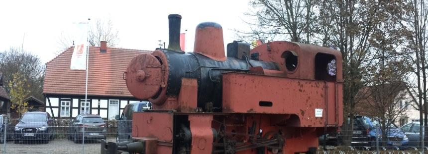 Landgut Stober im Havelland Lokomotive