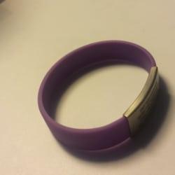 ID Armband in lila von Djuva für Kinder