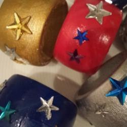 Serviettenringe als Weihnachtsgeschenk selber machen