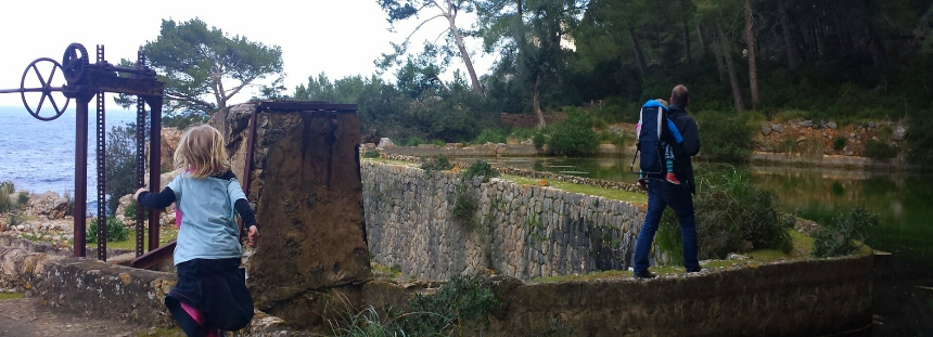 Wandern auf Mallorca von Cala Tuent zum Elektrizitätswerk