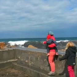 Wandern auf Mallorca mit Kindern Hafen von Valldemossa