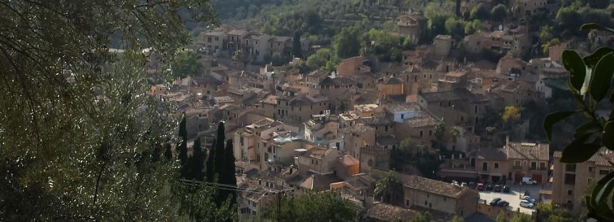 Tal der Orangen auf Mallorca