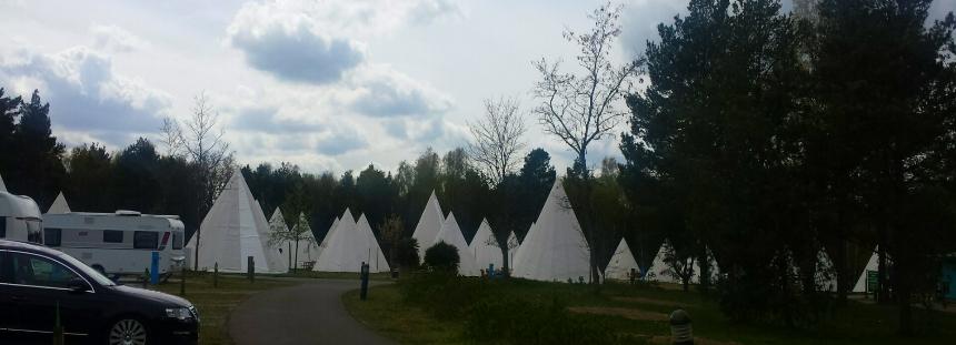 Tropical Islands Campingplatz