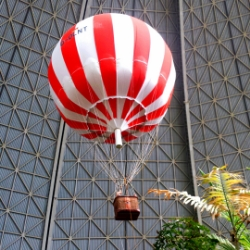 Heissluftballon in Tropical Islands