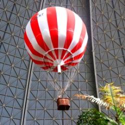 Heissluftballon in Tropical Islands