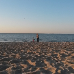 abends an der Ostsee