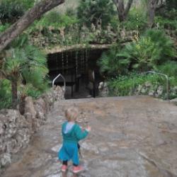 Ausgang der Drachenhöhle Mallorcas
