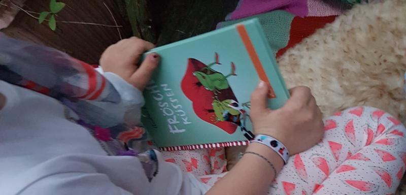 Märchenbuch Frösche küssen