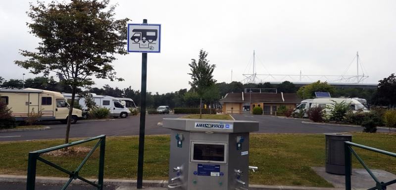 Kostenfreier Wohnmobil Stellplatz in Lens