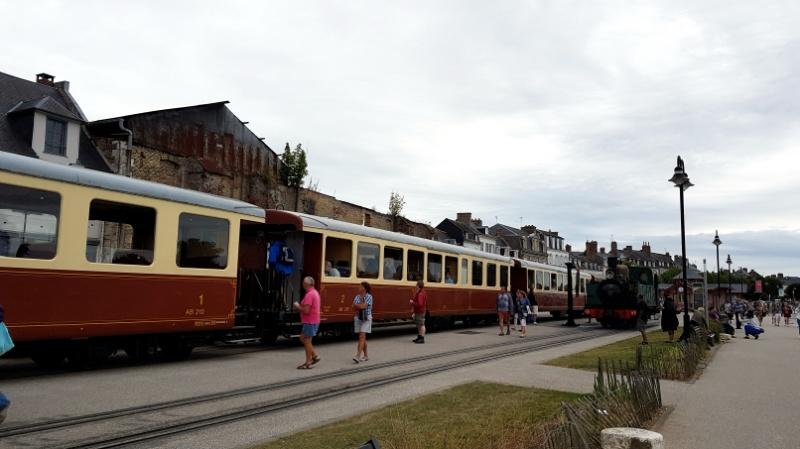 Dampfeisenbahn an der Somme Bucht