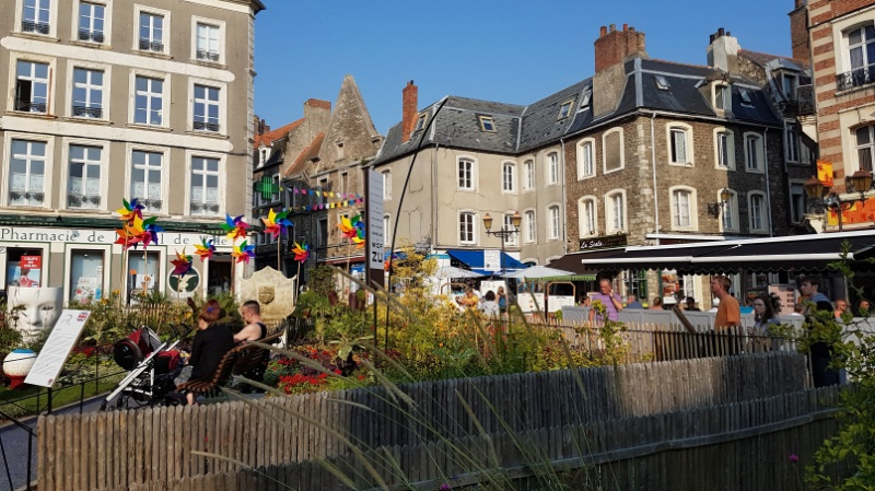 Garten der Sinne auf der Place de Résistance in Boulogne-sur-Mer