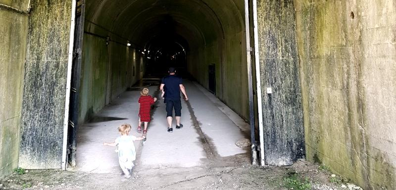 feuchte Kälte im V3 Bunker / Forteresse de Mimoyecques
