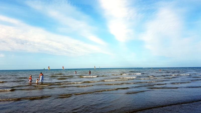 mit dem wohnmobil durch Nordfrankreich Strand von Dunkerque