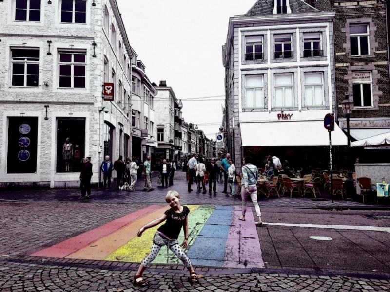 Bummeln und Eisessen in Maastricht