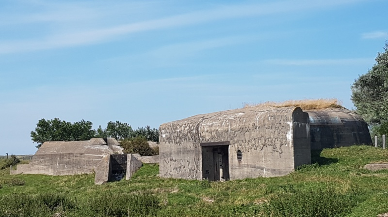 Bunkeranlage in der Region Haute-de-France bei Grand-Fort-Philippe