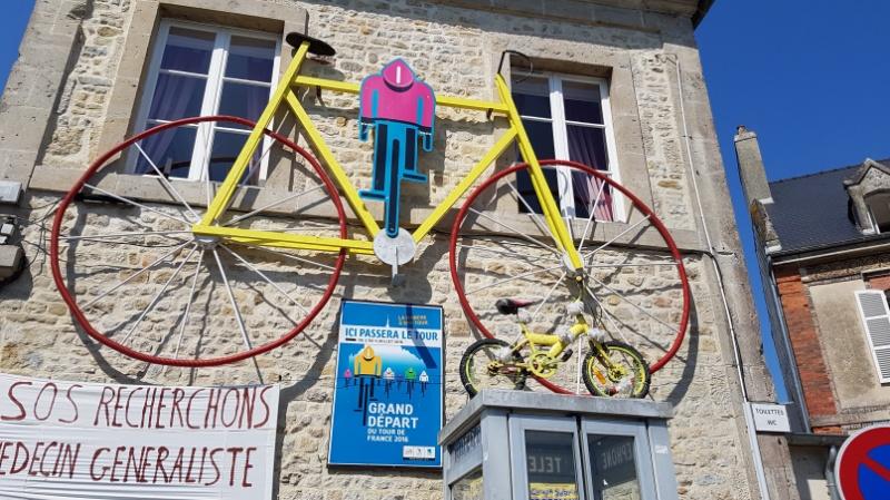 mit dem Wohnmobil auf der Tour de France Strecke unterwegs