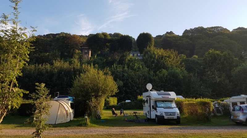 campingplatz le phare in honfleur, frankreich