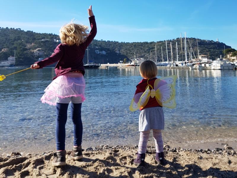 Am Yachthafen von Port de Soller auf Mallorca