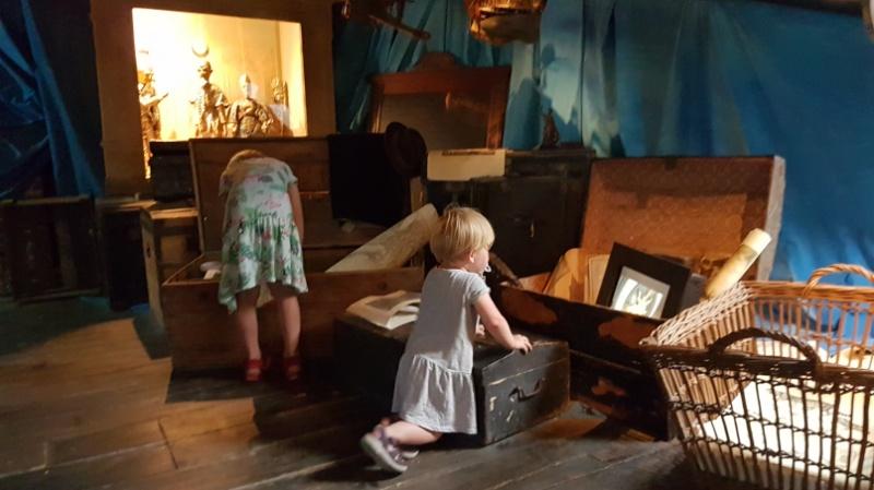 auf dem Dachboden gibt es für unsere Kinder einiges zu entdecken