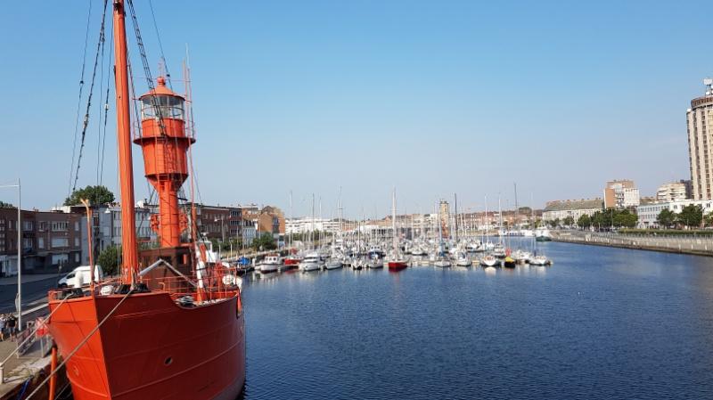 Wohnmobiltour durch Nordfrankreich Teil 14: Kulturradtour mit Kindern durch Dunkerque