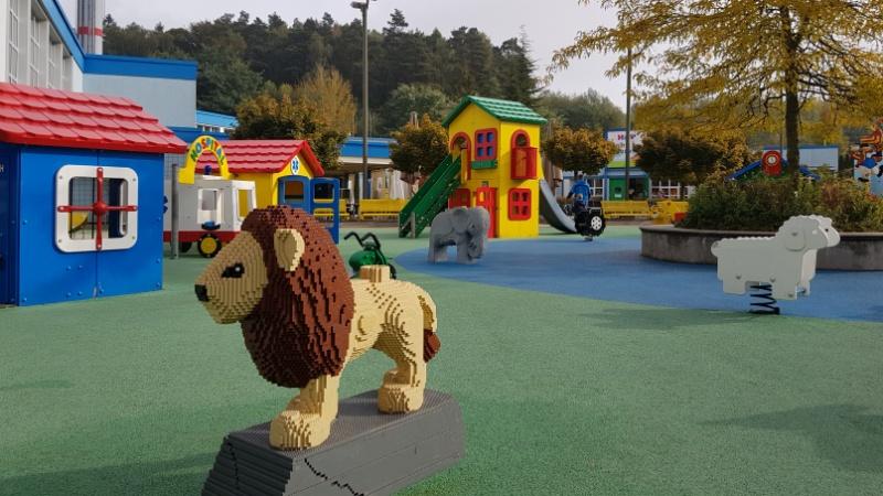 Der Duplostein-Spielplatz für die Kleinen