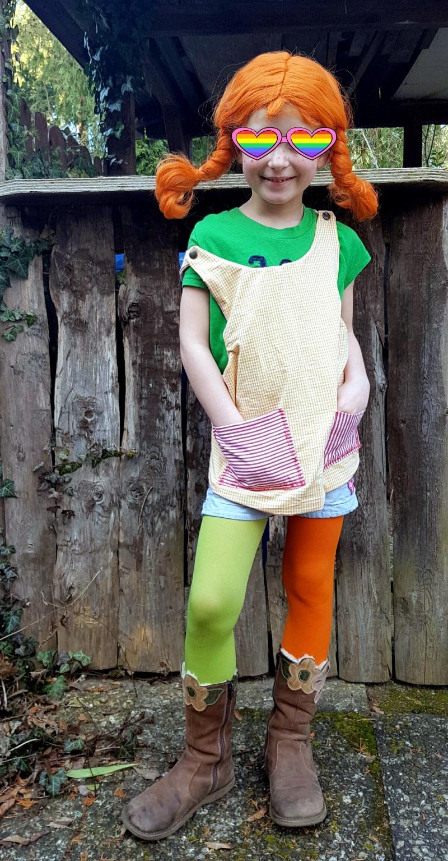 Wie macht man ein Pippi Langstrumpf Kostüm selbst?
