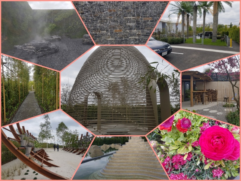 IGA Berlin Internationale Gartenkabinette und die Wassergärten