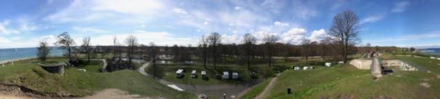 Campingplatz Charlottenlund in Dänemark, Kopenhagen