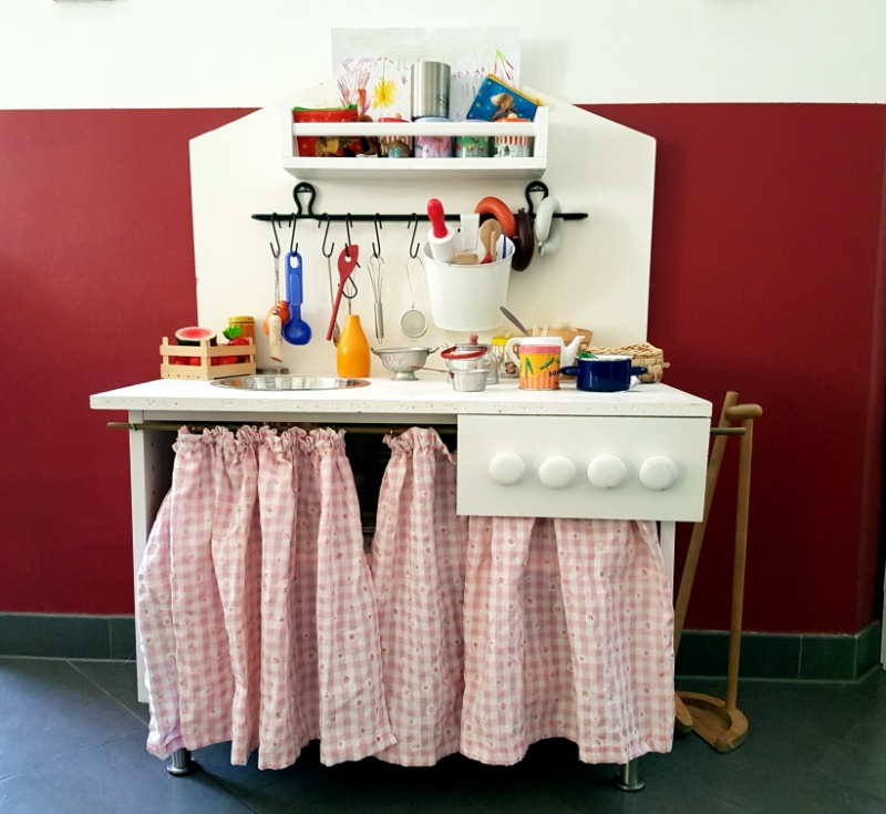 Bauanleitung für eine Spielküche für Kinder, Ikea Hack