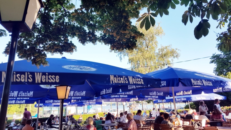 Maisels Biergarten in Berlin-Kladow